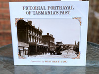 Pictorial Portrayal of Tasmania's Past - Book (1982) FREE POSTAGE to Australia