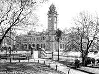 42g - Hobart GPO from Franklin Square c1900